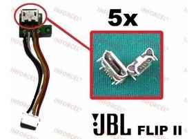 Lote Atacado 5x Conector Dock Carga Caixa Som Jbl Flip 2