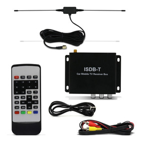 Receptor De Tv Digital Techone 2 Saidas Com Controle
