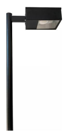 Postes 3,00m C/1 Pétala Retangular Soquete E-27