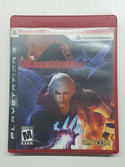 Devil May Cry 4 Mídia Física Original Para Playstation 4