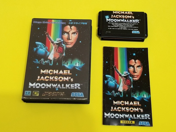 Michael Jackson Sega Mega Drive Original Japonês.