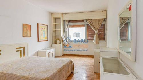 Imagem 1 de 18 de Apartamento Com 3 Dormitórios À Venda, 210 M² - Higienópolis - São Paulo/sp - Ap62029