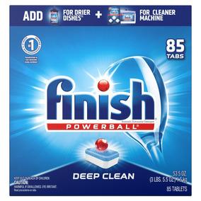 Finish Max In One Detergente Lavavajillas 85 Pzas