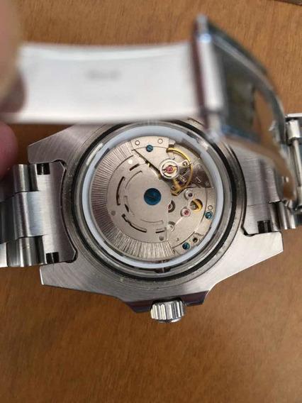 Rolex Submariner Date Preto Safira R E P!