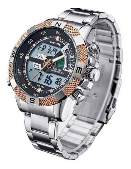 Relógio Masculino Weide Anadigi Wh-1104
