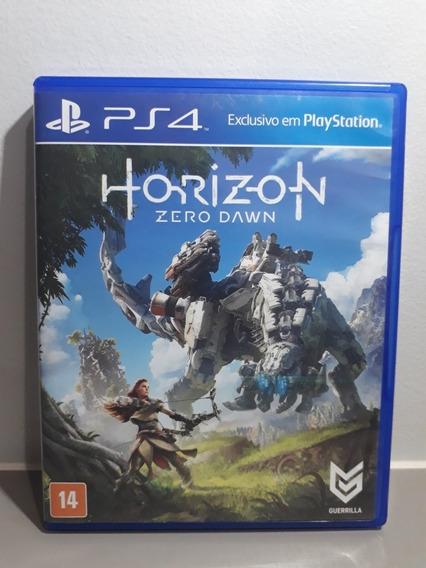 Jogo Seminovo Ps4 - Horizon Zero Dawn