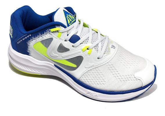 Tênis Fila Skyrunner 19 Footwear Branco E Azul - Original