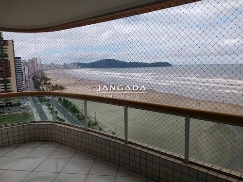 Apartamento Com 04 Suites, 02 Vagas De Garagem Praia Grande - 11290