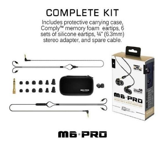 Fone M6 Pro Monitor Retorno De Ouvido Mee Audio - Não Se215