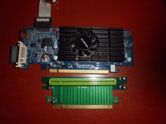 Tarjeta De Video Gigabyte Nvidea Geforce N210tc 512mb Pci-e
