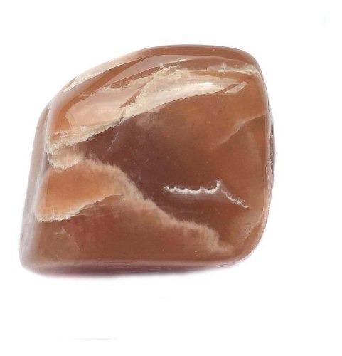 Pedra Da Lua Verdadeira Marrom Natural Intuição Cristal 273