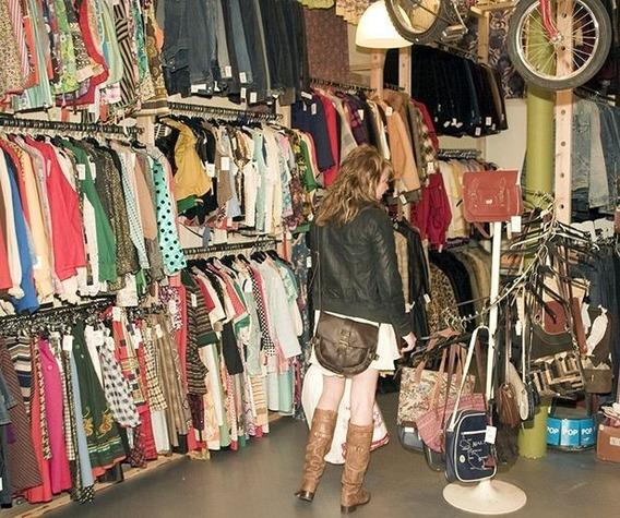 Lote 10 Prendas Vintage Surtido S/elección Feria Nueva Mujer
