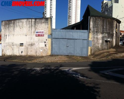 Imagem 1 de 7 de Terreno Comercial À Venda No Taquaral Em Campinas - Te03831 - Te03831 - 69436604