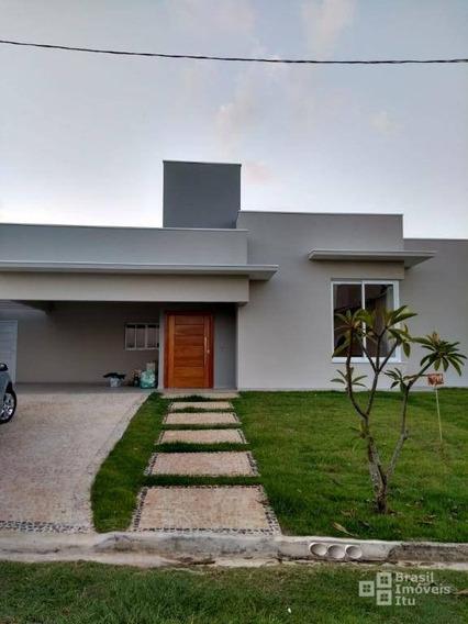 Casa Com 3 Dormitórios À Venda, 231 M² Por R$ 800.000 - Condomínio Palmeiras Imperiais - Salto/sp - Ca1758