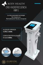 Alquiler Crio-radiofrecuencia Body Health