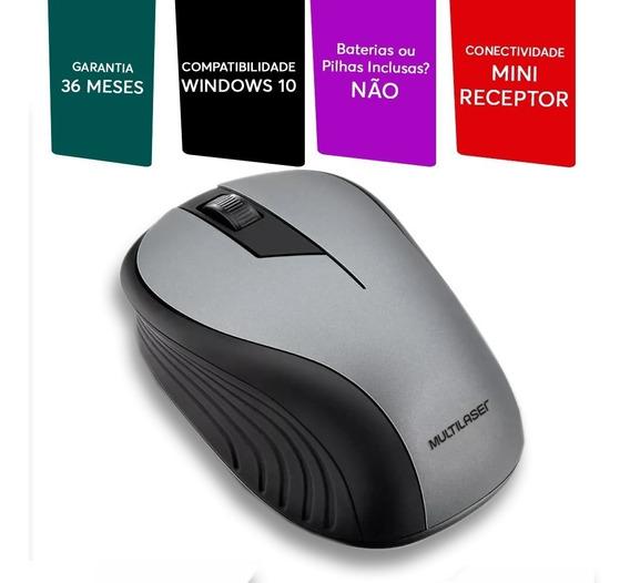 Mouse Óptico Sem Fio Usb Para Notebook E Pc Original 1200dpi
