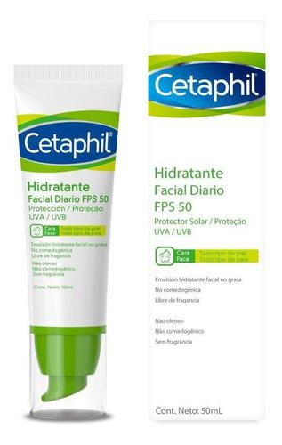 Imagen 1 de 8 de Crema Hidratante Cetaphil Spf 50 Fcox 50ml