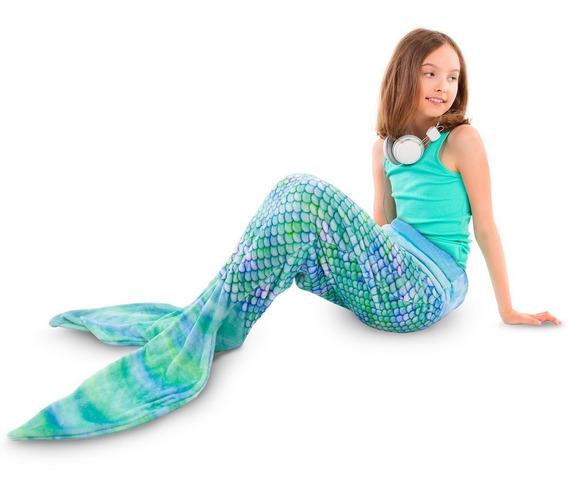 Comfy Tails Frazada En Forma De Cola De Sirena Frio