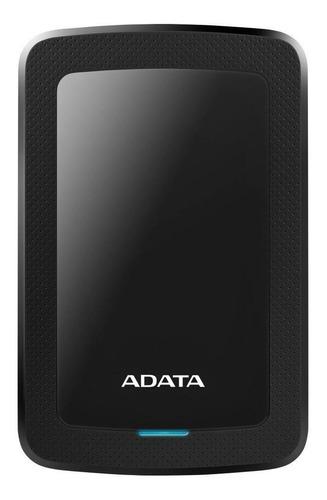 Imagen 1 de 3 de Disco duro externo Adata AHV300-2TU31 2TB negro