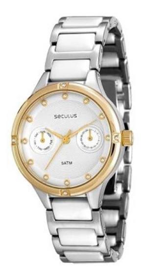 Relógio Feminino Seculus Analógico - 20375lpsvbq1 - Prata/do