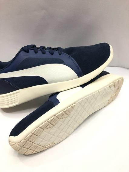 Tenis Puma St Trainer Evo Sd Para Hombre Color Azul