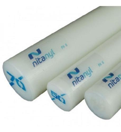 Imagem 1 de 4 de Nylon Branco Nitaplast Nitanyl Pa6 D. 50 X 500 Mm Tecnil