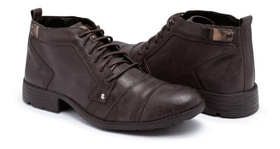 Bota Casual Masculina Sapato Social Cano Baixo Sapatenis