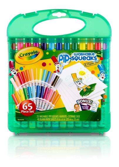 Kit De Canetinhas Laváveis Pip-squeaks Crayola Ganhe Brinde