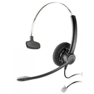 Audifono Con Microfono De Diadema Plantronics Sp11/rj9