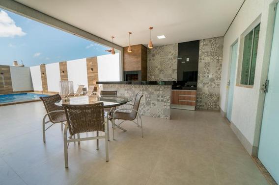 Casa Em Vicente Pires, Vicente Pires/df De 300m² 4 Quartos À Venda Por R$ 940.000,00 - Ca229314