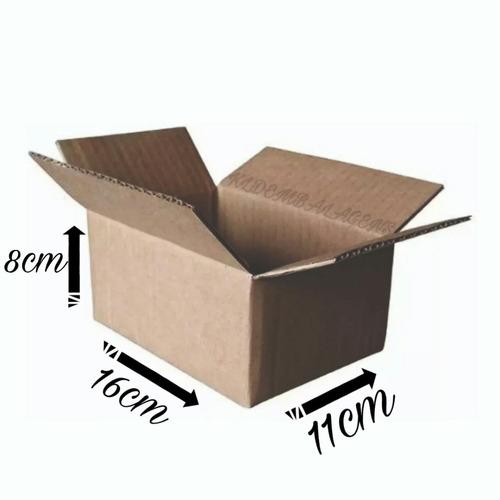 50  Caixas Papelão 16x11x08  Menor Preço