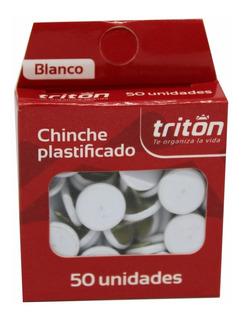Chinche Blanco X 50 Plastificado Triton