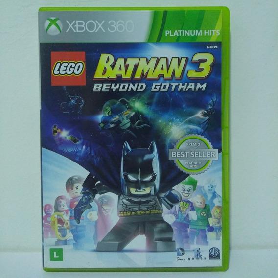 Lego Batman 3 Beyond Gotham Mídia Física Original Xbox 360