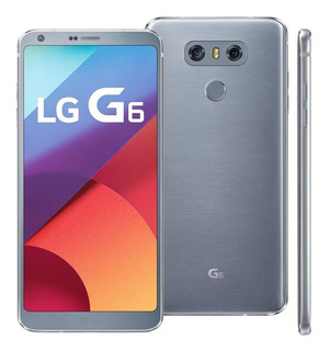 Lg G6 H870 Android 7.0 Quad-core 2.35 Ghz 32gb 4g - Novo