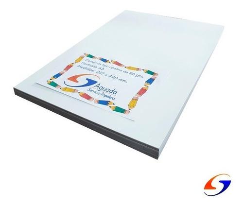 Opalina Sp Cartulina Blanca A3 180gr X100 Serviciopapelero
