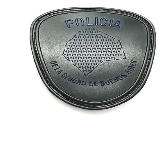 Policia De La Ciudad- Emblema En Pvc