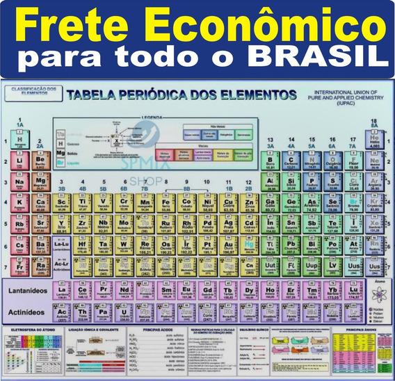 Mapa Tabela Periódica Elementos Química 120x90 Frete Barato