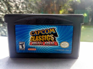 Capcom Classics Mini Mix Nintendo Game Boy Advance Gba
