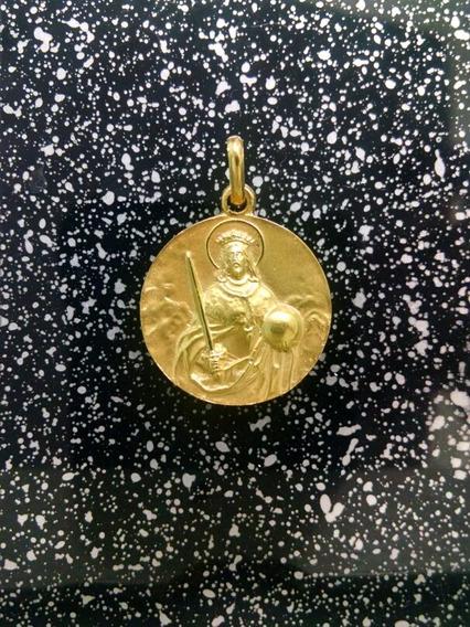 Medalla Oro 14k San Fernando #328