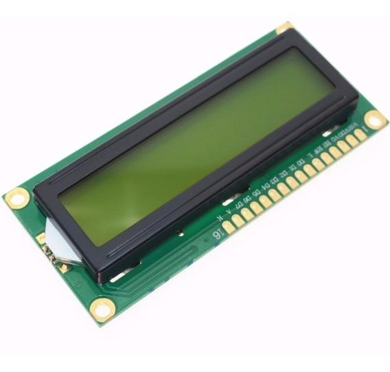 Display Lcd 16x2 + Módulo I2c Serial 1602 Arduino E/ Raspi