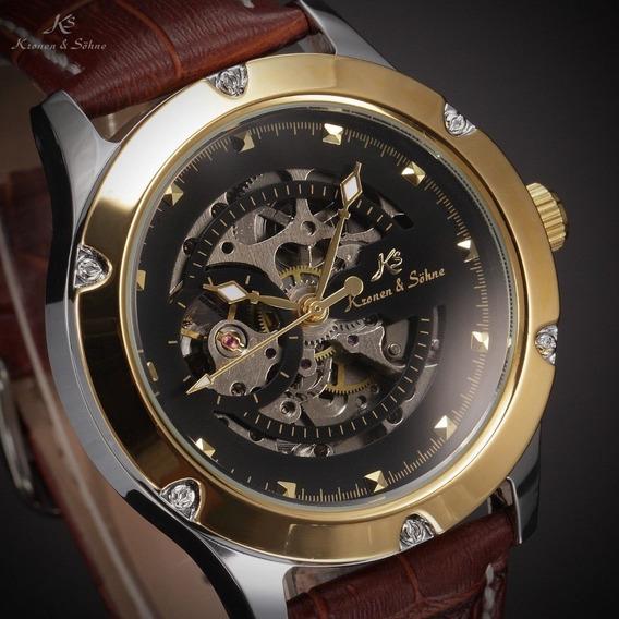 Relógio Ks. Kronen & Sohne. Navigator Series. Automático. 51