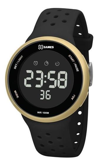 Relógio X-games Masculino Digital Xmppd545 Dourado E Preto