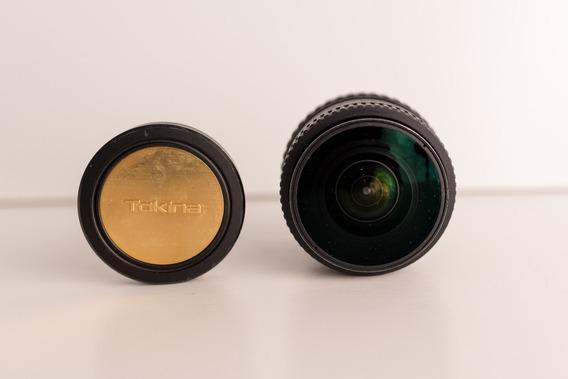 Lente Tokina At-x 107 10-17mm F/ 3.5-4.5 Dx Fisheye P/ Nikon