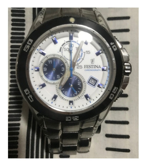 Relógio Festina Chronograph F16296 Branco