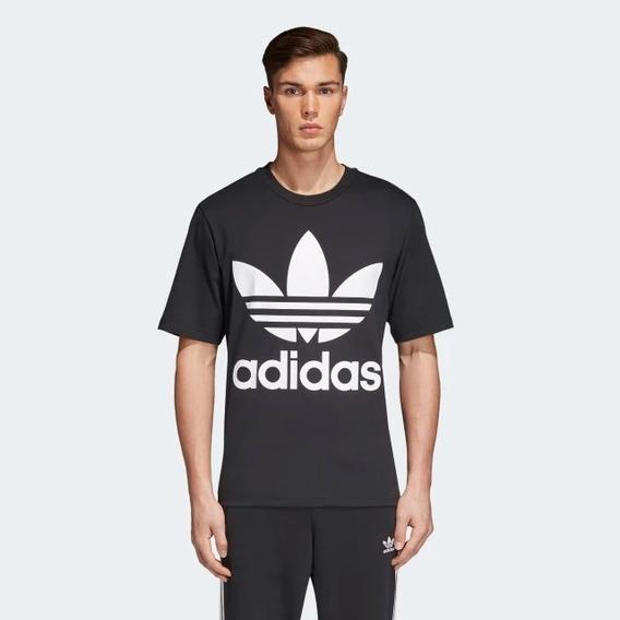 Playera adidas Trefoil Oversize 100% Original
