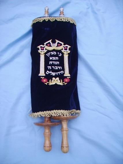 Réplica Sefer Torá Importada Israel- 48 Cm + Frete Grátis