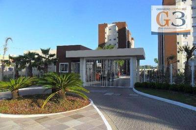 Apartamento Com 3 Dormitórios À Venda, 70 M² Por R$ 340.000 - Areal - Pelotas/rs - Ap3176