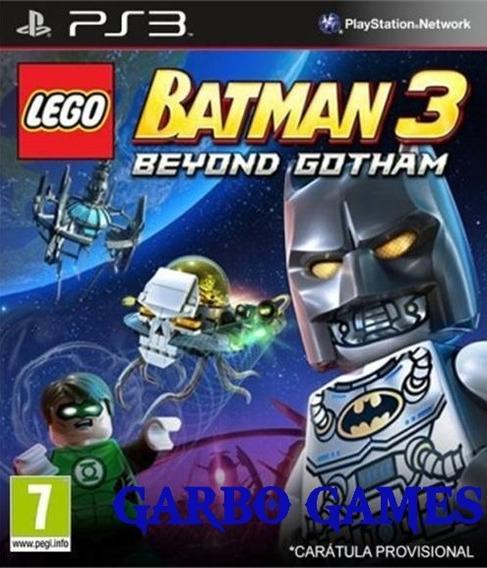 Jogo De Ps3 Lego Batman 3 Em Mídia Digital