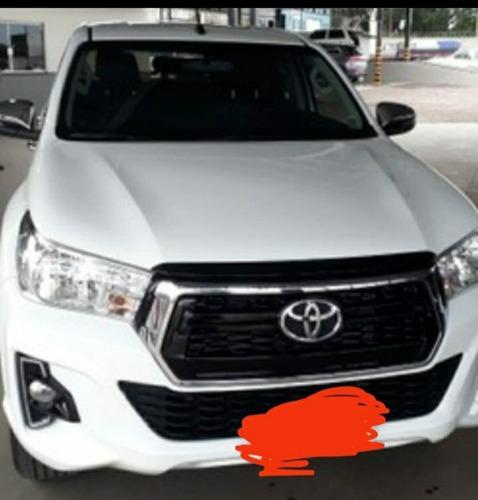 Imagem 1 de 8 de Toyota Hilux 2019 2.8 Sr Cab. Dupla 4x4 Tdi Aut. 4p