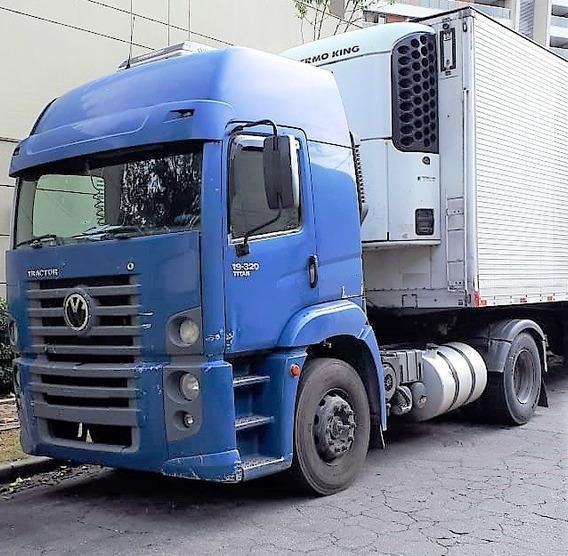 Vw 19320 4x2 2008 / 2009 Teto Alto